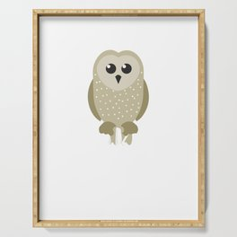 Adorable I Just Freaking Love Owls Ok? Serving Tray