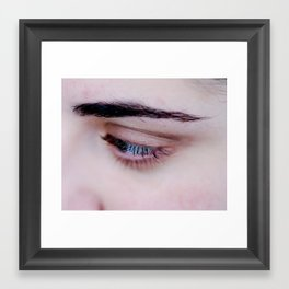Glance Framed Art Print