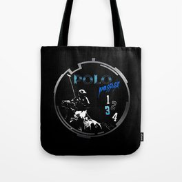 polo black Tote Bag