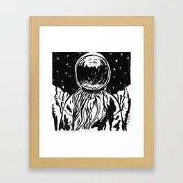 SpaceDude Framed Art Print