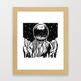 SpaceDude Framed Art Print