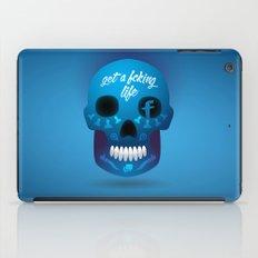 Get fcking life iPad Case