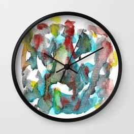 Watercolor 4351 Wall Clock