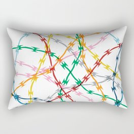 Trapped New Rectangular Pillow