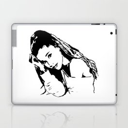 PORTRAIT 0F AN AMERICAN FEMALE POP STAR,ACTRESS AND SONGWRITER Laptop & iPad Skin