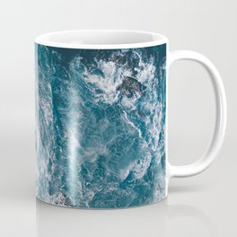 I love the sea - written on the beach Coffee Mug