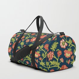 Rococo Floral Pattern #6 Duffle Bag