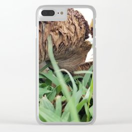 Mellow Mushrooms Clear iPhone Case