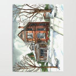 Victorian House in The Avenues Poster