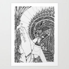 Geochrist Art Print