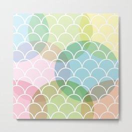 The Rainbow Fish Metal Print