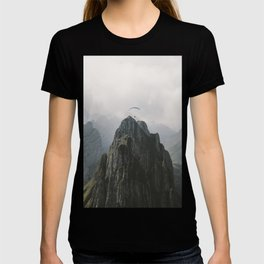 Flying Mountain Explorer - Landscape Photography T-shirt