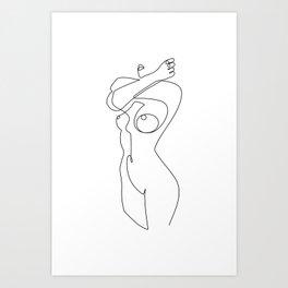Posture Art Print