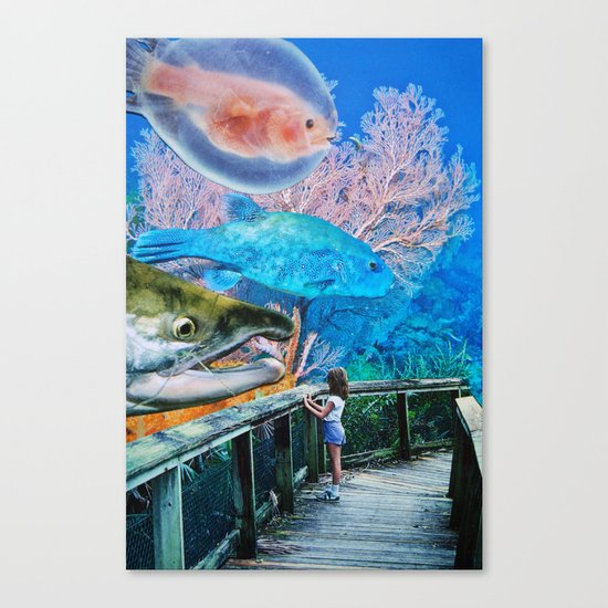 A Song I Heard the Ocean Sing Canvas Print