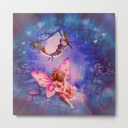 Lillie, Princess of the Fairy Realm Metal Print