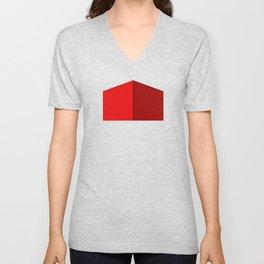 RED BOX Unisex V-Neck