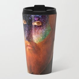 Man with a starry Face Travel Mug