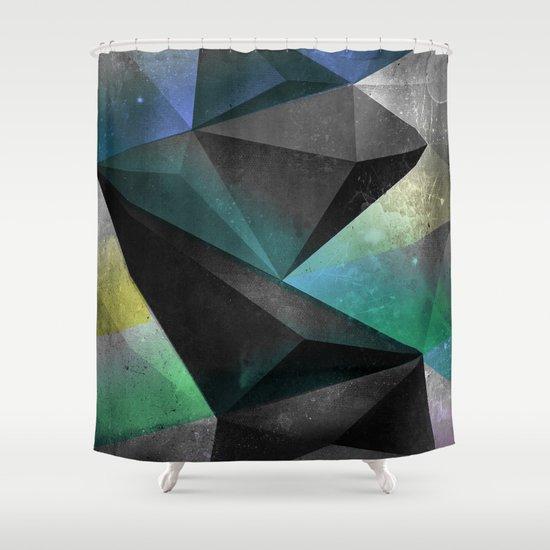 yxtryd_znyke Shower Curtain