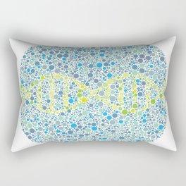 DNA Ishihara Test Rectangular Pillow