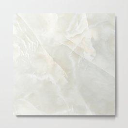 Cracked Crystal Marble Texture Metal Print