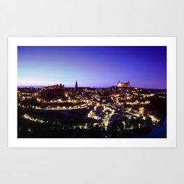 Toledo, Spain. Art Print