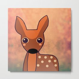 Little Deer-96 Metal Print