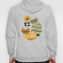 Lovely Cats with Sunflower Hoody