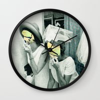 picasso Wall Clocks featuring Painting Picasso by Marko Köppe