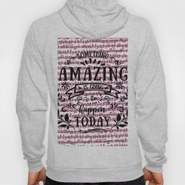 Notes are the building blocks of much written music Hoody