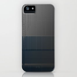 Gray Blue 02 iPhone Case