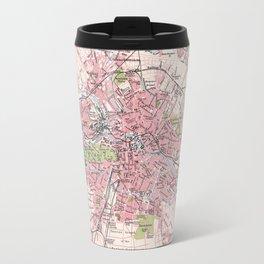 Antique Map of Berlin & Environs Travel Mug