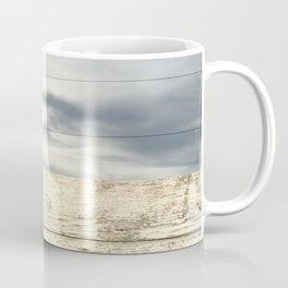 landscape 001: telegraph sky over white woods Coffee Mug