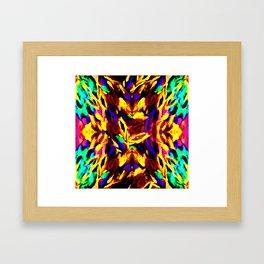 Brush Kalediscope Framed Art Print