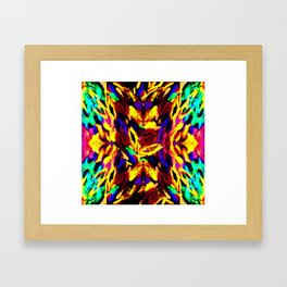Brush Kalediscope Framed Art Print