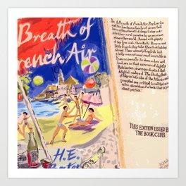 A BREATH OF FRENCH AIR(DETAIL) Art Print
