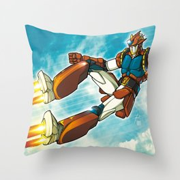 Magnetic Sky Throw Pillow