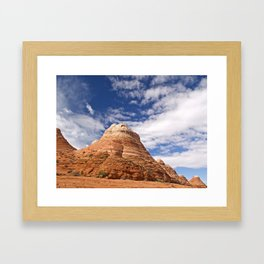 The Coyote Buttes 2 Framed Art Print