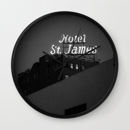 The Historic Hotel St. James Wall Clock