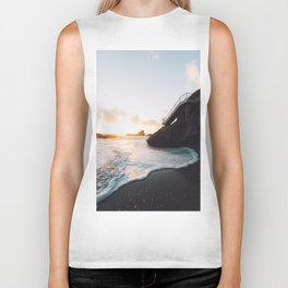 Soft sea foam Biker Tank