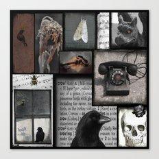 Gothic Myth  Canvas Print