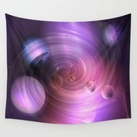 return Wall Tapestries featuring Return by Laake-Photos