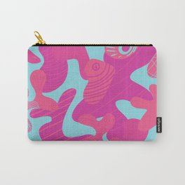 Pink Sea Life Carry-All Pouch