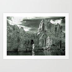 ROCKSCAPE Art Print