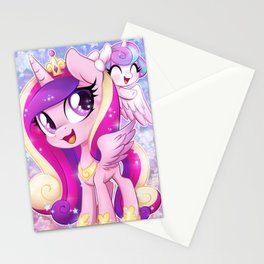 Little Princess Cadance and Flurry Heart Stationery Cards