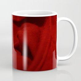 Red Velvet Dune Textile Folds Concept Photography Coffee Mug