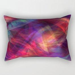 Abstract Shiny Night Lights 23 Rectangular Pillow