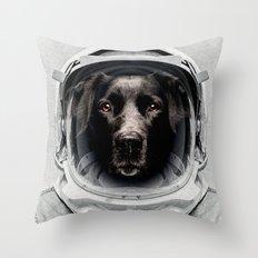 Pluto Astro Dog Throw Pillow