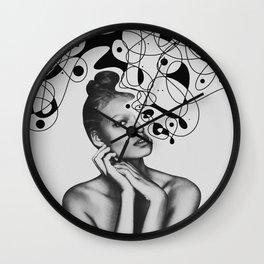 Abstraction - version 5. BW Wall Clock