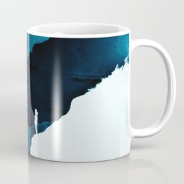 Teal Isolation Coffee Mug