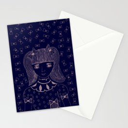 I am 'BOW'led over by you Stationery Cards